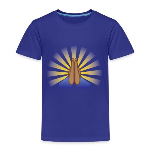 Prayer Hands (Brown) - Toddler Premium T-Shirt