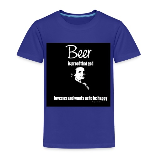 Beer T-shirt - Toddler Premium T-Shirt