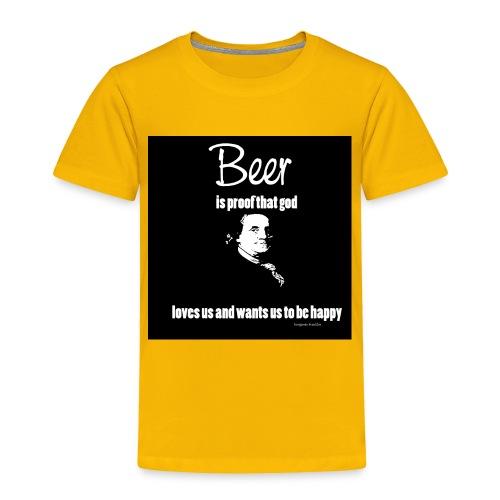 Beer T-shirt - Toddler Premium T-Shirt