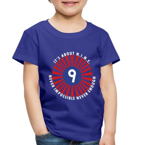 NINE Logo September 2018 - Toddler Premium T-Shirt