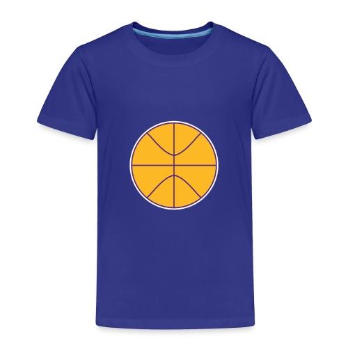 Basketball purple and gold - Toddler Premium T-Shirt
