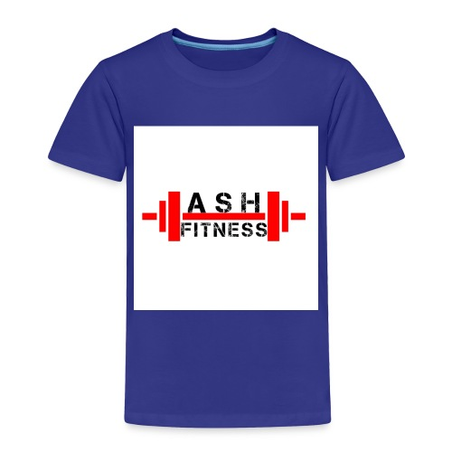 ASH FITNESS MUSCLE ACCESSORIES - Toddler Premium T-Shirt