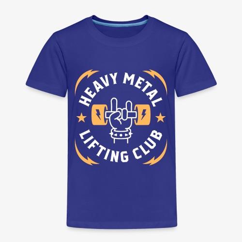 Heavy Metal Lifting Club (Yellow) - Toddler Premium T-Shirt