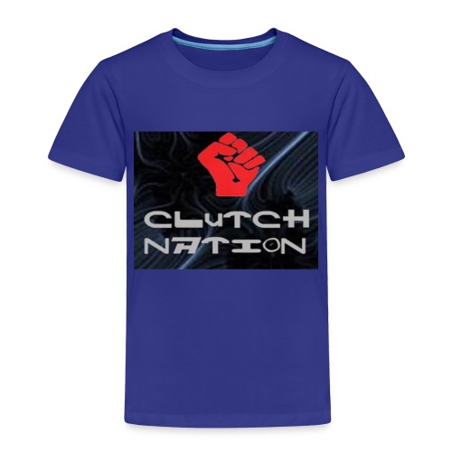 clutchnation logo merch - Toddler Premium T-Shirt