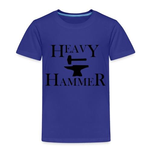 Heavy Hammer Bold - Black - Toddler Premium T-Shirt