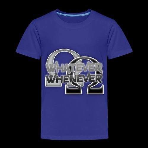 RalDal: Whatever Whenever Print - Toddler Premium T-Shirt