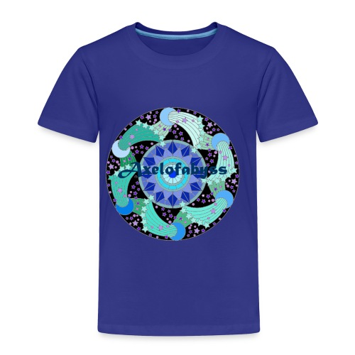 Axelofabyss The Ocean Moon - Toddler Premium T-Shirt