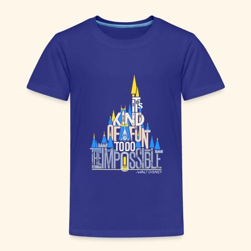 It's Kind of Fun... Original - Toddler Premium T-Shirt