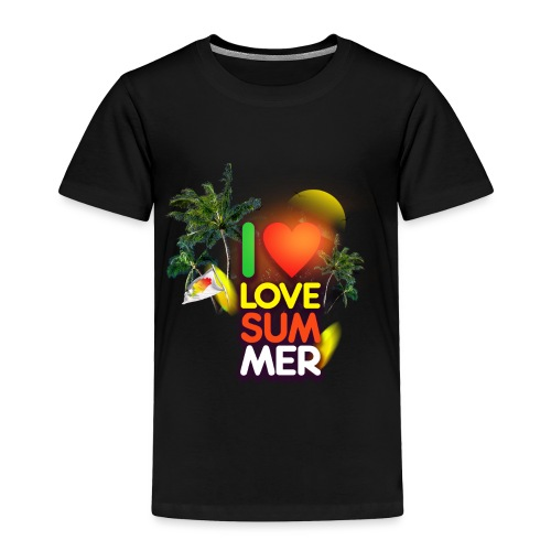 I love summer - Toddler Premium T-Shirt