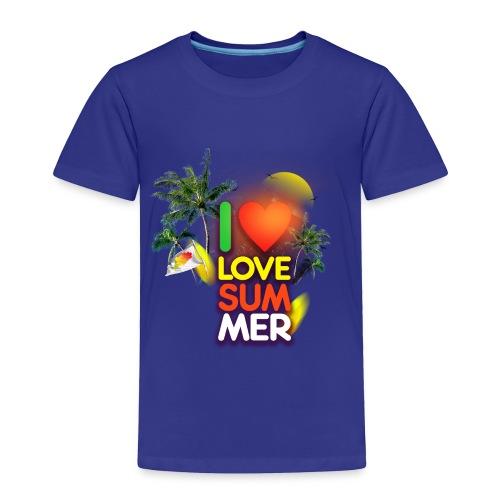 I love summer - Toddler Premium T-Shirt