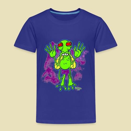 Ongher's UFO Bugg'd - Toddler Premium T-Shirt