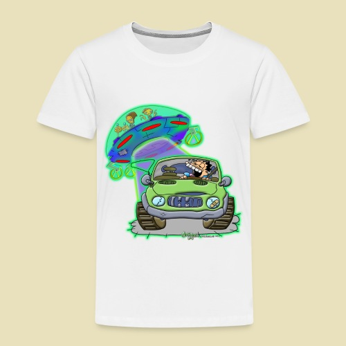 GrisDismation Ongher's UFO Alien Abduction - Toddler Premium T-Shirt