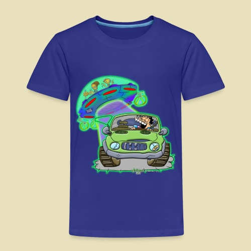 GrisDismation Ongher's UFO Alien Abduction - Toddler Premium T-Shirt