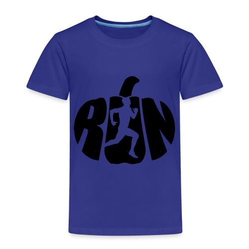 Halloween Running Pumpkin - Toddler Premium T-Shirt