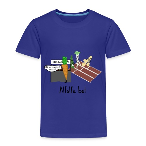Alfalfa Bet - Toddler Premium T-Shirt