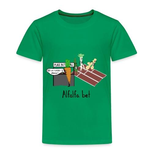 Alfalfa Bet - Toddler Premium T-Shirt