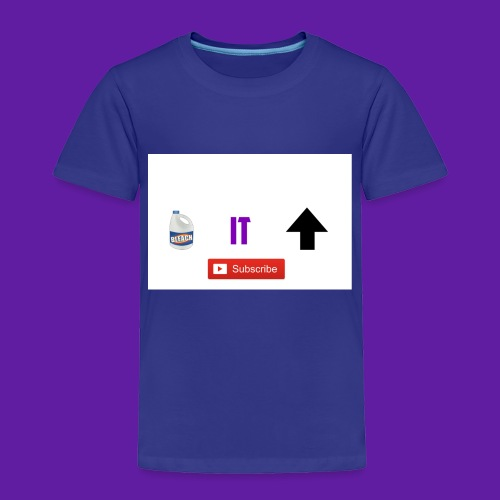 BleachItUp Apparel - Toddler Premium T-Shirt