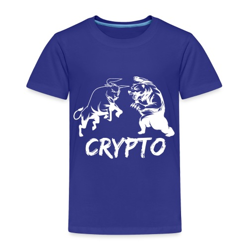 CryptoBattle White - Toddler Premium T-Shirt