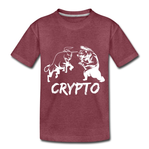 CryptoBattle White - Toddler Premium T-Shirt