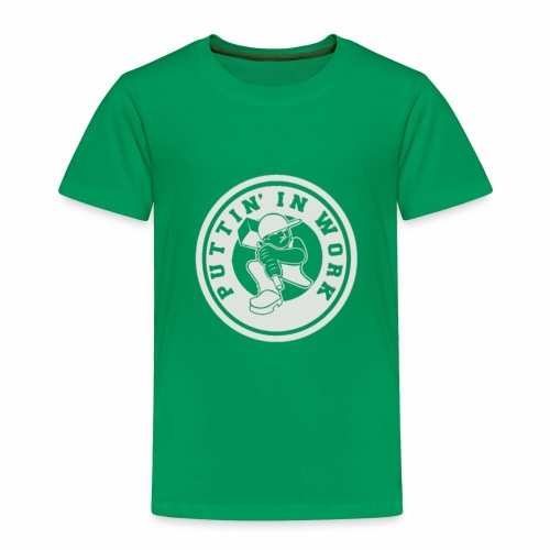 P.I.W White Logo - Toddler Premium T-Shirt