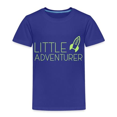 Little Adventurer Rocket t-shirt - Toddler Premium T-Shirt