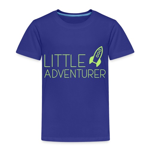Little Adventurer Rocket t-shirt - Toddler Premium T-Shirt