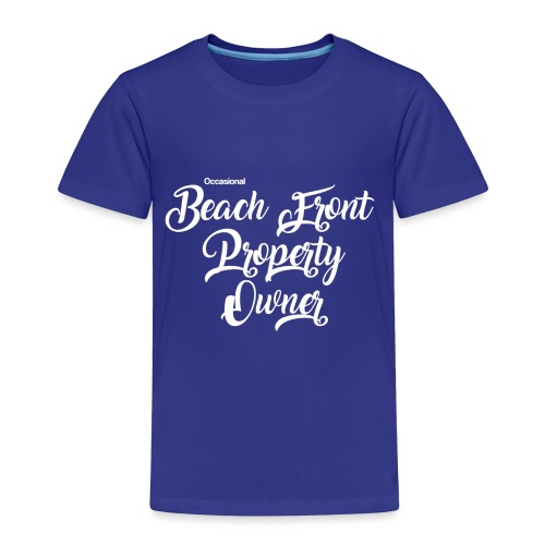 beach front - Toddler Premium T-Shirt