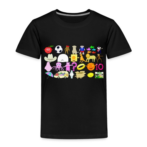 Phonics Song 3 - Toddler Premium T-Shirt