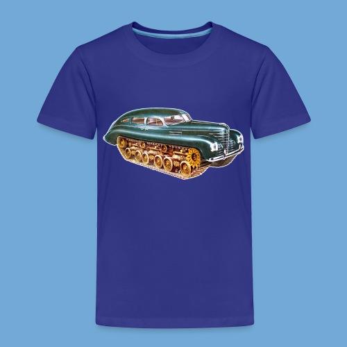 Car Tank - Full Color - Toddler Premium T-Shirt