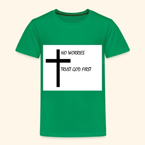 No Worries - Toddler Premium T-Shirt