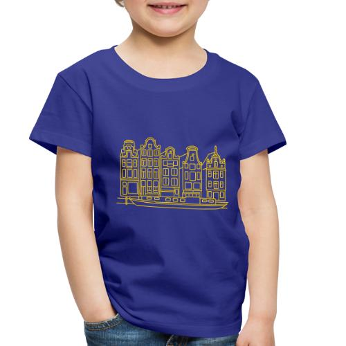 Amsterdam Canal houses - Toddler Premium T-Shirt
