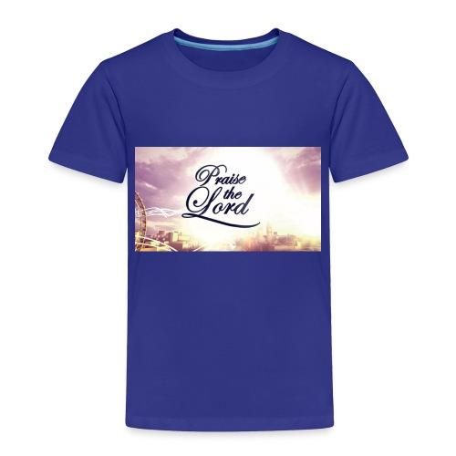 Praise The Lord T-Shirt - Toddler Premium T-Shirt