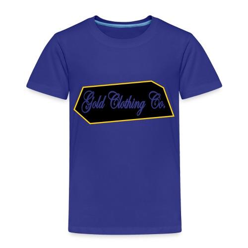 GOLD Clothing Co. Brick Logo - Toddler Premium T-Shirt