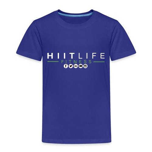 hlfsocialwht - Toddler Premium T-Shirt
