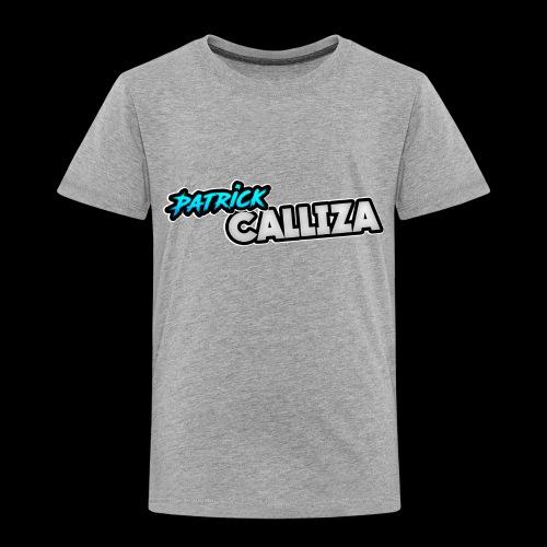 Patrick Calliza Official Logo - Toddler Premium T-Shirt