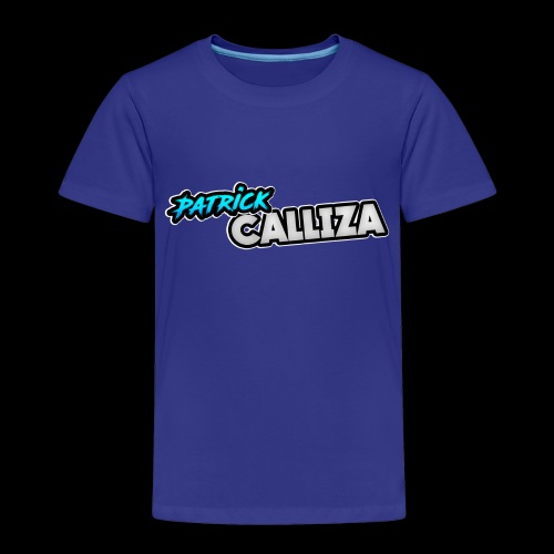 Patrick Calliza Official Logo - Toddler Premium T-Shirt