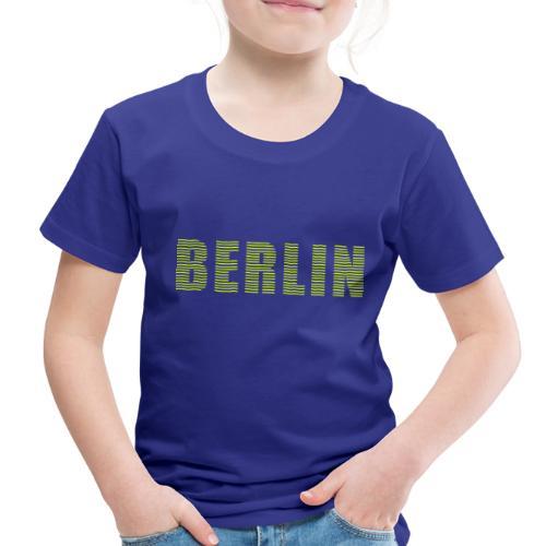 BERLIN line-font - Toddler Premium T-Shirt