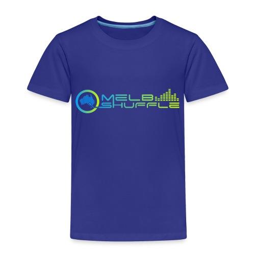 Melbshuffle Gradient Logo - Toddler Premium T-Shirt