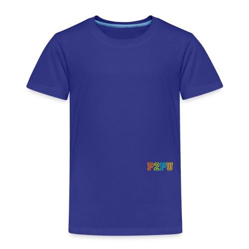P2PU RGB-01 Solid - Toddler Premium T-Shirt
