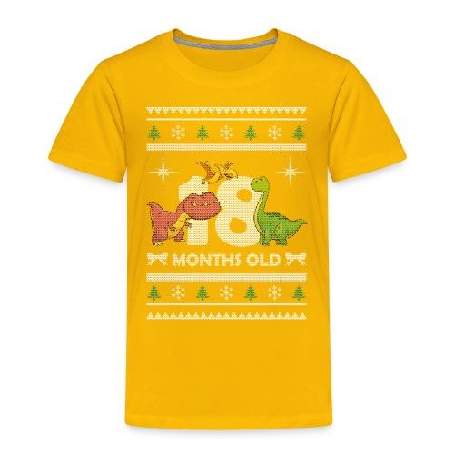 Christmas 18 months old - Toddler Premium T-Shirt