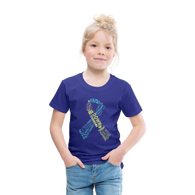 Down syndrome Ribbon Wordle