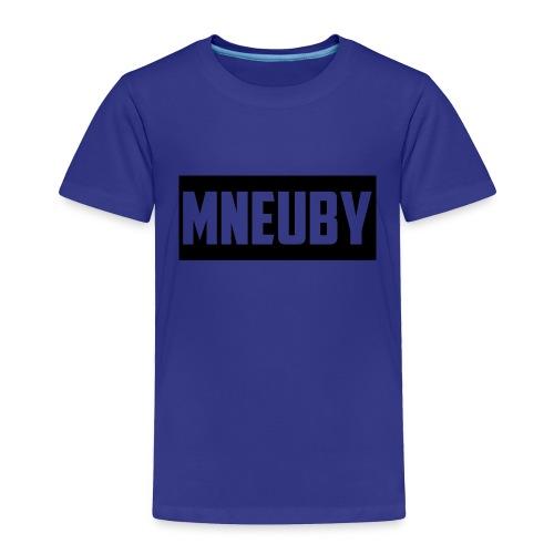 Mneuby Text Logo - Toddler Premium T-Shirt