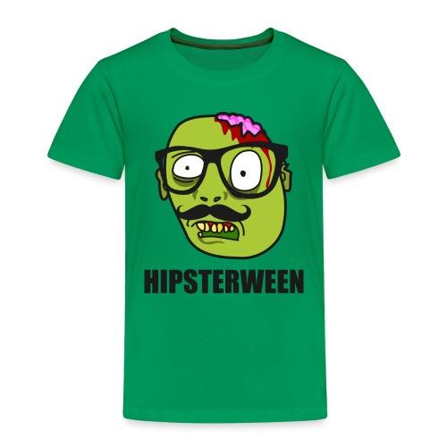 Hipsterween Zombie - Toddler Premium T-Shirt