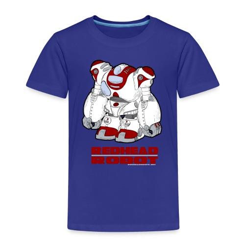 Redhead Robot - Toddler Premium T-Shirt