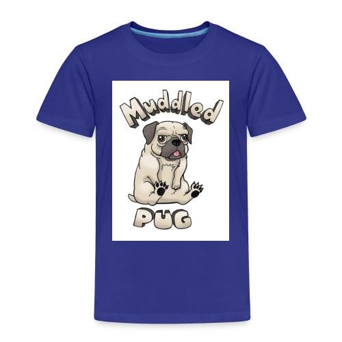 muddled-pug - Toddler Premium T-Shirt