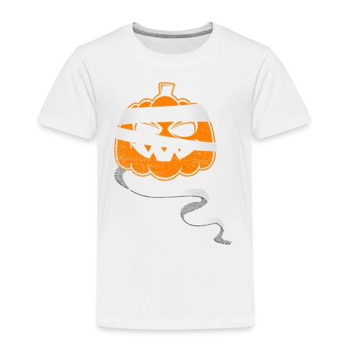 Halloween Bandaged Pumpkin - Toddler Premium T-Shirt