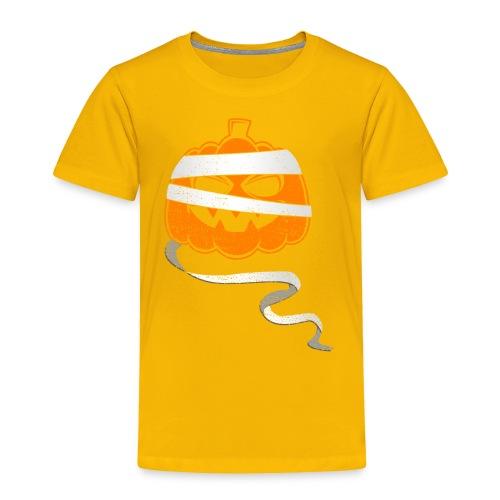 Halloween Bandaged Pumpkin - Toddler Premium T-Shirt