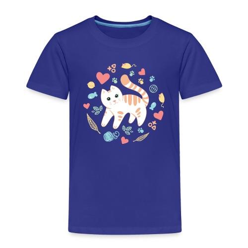 Kitty s Favorite Things - Toddler Premium T-Shirt