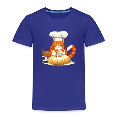 Chef Cat by Rachael B - Toddler Premium T-Shirt