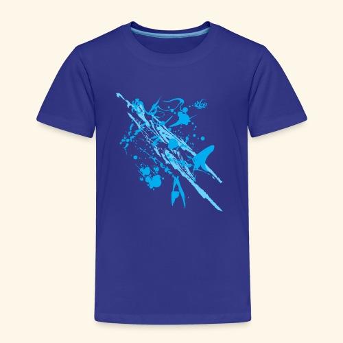 Blue Splash - Toddler Premium T-Shirt